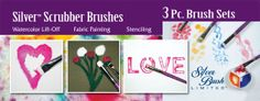 Silver Brush Limited is the source for quality artist, craft, and salon brushes, storage cases for accessories.   http://www.silverbrush.com/