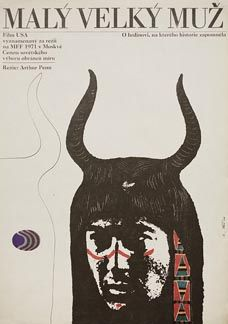 Posteritati: LITTLE BIG MAN 1973 Czech 11x16