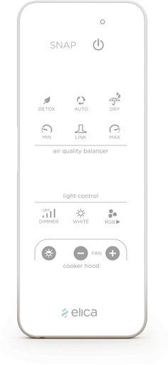 Elica Snap telecomando innovativo touch screen | www.gallisrl.eu