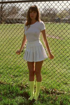 Fine Jersey T+ Tennis Skirt. #AmericanApparel