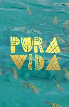 PURA VIDA // @seattlestravels http://seattlestravels.com/travel-quote-phone-cases/