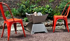 FUNSTON Fire-Pit/Ice-Chest | Cool Material