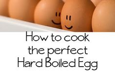 How to cook the perfect Hard boiled egg - perfect for eggs Perfect Hard Boiled Eggs, Perfect Eggs, Cooking 101, Cooking Recipes, Basic Cooking, Easter Recipes, Easter Ideas, Cooking Hard Boiled Eggs, Great Recipes