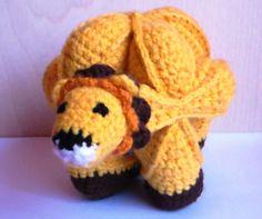 Leo Labda - Horgolt baba Puzzle labda, Játék, Készségfejlesztő játék, Meska Baba, Crochet Hats, Beanie, Amigurumi, Knitting Hats, Beanies, Beret