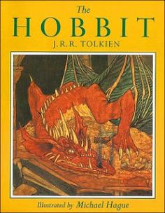 The Hobbit, illustrated by Michael Hague... I have this copy!