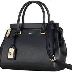 Whitby Ralph Lauren Convertible Satchel