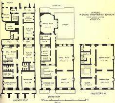 Vintage home plans on pinterest victorian house plans for Victorian townhouse plans