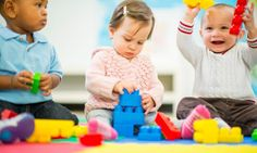 Too cold and wet to play at the park? Join the Toddler Time play group at the library!  It's free and fun-- every Monday (except holidays) from 10:30-11:30.