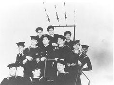 crewmembers from British Columbia aboard the HMCS Regina | saskhistoryonline.ca
