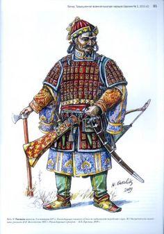 Tatars.Tatar medieval armor-худ.Горелик.