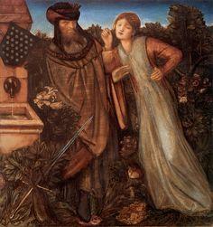Edward Burne-Jones - PreRaphaelite Artist - Isolde