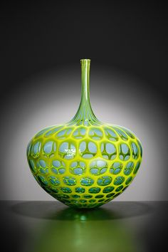 Another sample of Sam Stang intricate work of glassblowing