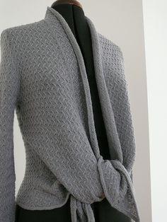 Ravelry: liselottez's Flat Grey Cardigan