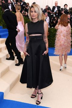 Paris Jackson in Calvin Klein by Appointment. The under-boob is horrific.