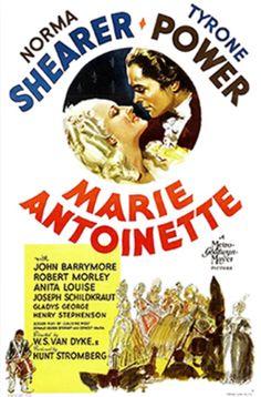 Norma Shearer & Tyrone Power in Marie Antoinette Produced by Hunt Stromberg Sr.