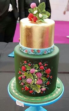 Beautiful cake from a russian cakedesign
