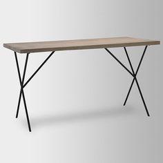 Metal Truss Work Table | west elm