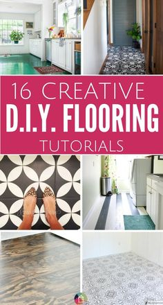 16 Gorgeous But Cheap Flooring Ideas & 169 best Flooring Solutions images on Pinterest in 2018 | Home decor ...