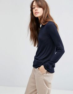 ASOS Jumper With Crew Neck in Soft Yarn at asos.com