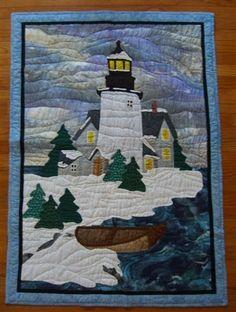 light house: quilt- nice!