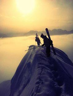 Ready to ski ! Nicolas Etienne
