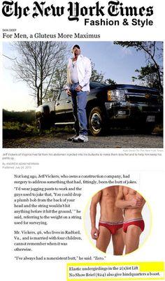 le blog americanlife.fr s'interesse à la marque de sous-vetements americaine gay 2(x)ist - booster de fesses