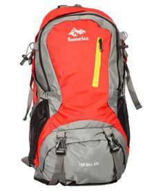 Senterlan Red Hiking Rucksack Hiking Bag, Go Hiking, North Face Backpack, Online Bags, Backpacks, Red, Blue, Stuff To Buy, Shopping
