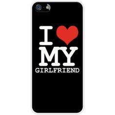I love my girlfriend Par WAM pour Apple  iPhone 5