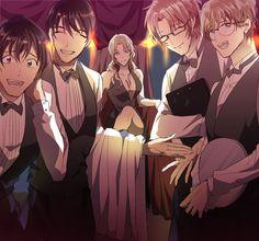 Conan, Gosho Aoyama, Magic Kaito, Case Closed, Doraemon, Sherlock Holmes, Manga Anime, Police, Couples