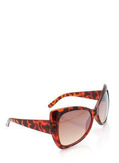oversized cat eye sunglasses $4.10