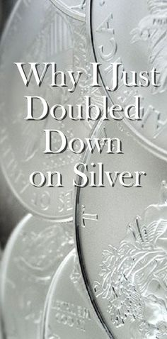 Why I Just Doubled Down on Silver - http://www.assessmyhome.com.au/why-i-just-doubled-down-on-silver/ Back in late June, I went against Dave Ramsey's advice and I bought silver. Actually, I bought a silver/gold motif (see my reasoning here), but I'm sure it still wasn't Ramsey approved. Within the first 12 days of my investment, the silver and gold motif soared and I was up 23% on my investment. ... http://lifeandmyfinances.com/wp-content/uploads/2016/10/20161017-why-