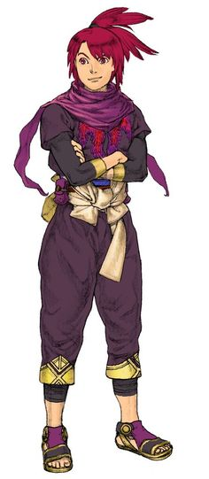 Baten Kaitos Origins - character art | #Nintendo #GameCube