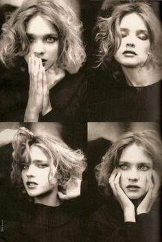 Natalia Vodianova in Divine Vodianova editorial, Elle France December 2008 | photography: Paolo Roversi, styling: Julie Chanut-Bombard