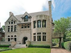 american romanesque revival architechture  | Romanesque Revival architectural style...lovely home! Would be great ...