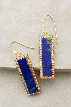 Shimmered Lazuli Drops - anthropologie.com