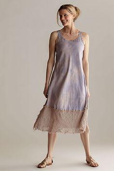 Silk & Linen Slip Dress: Robin Kaplan: Silk & Linen Dress - Artful Home