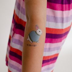 Skin is in! Have a Merry Easter with Tatt.ly temporary tattoos #goodbunny #tattly