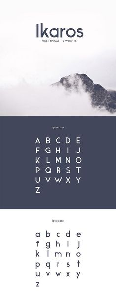 60 Quality FREE Fonts You Probably Don't Own, But Should! - I like the Ikaros font Typeface basic principles Font Design, Web Design, Type Design, Clean Design, Vector Design, Calligraphy Fonts, Typography Letters, Hand Lettering, Font Alphabet