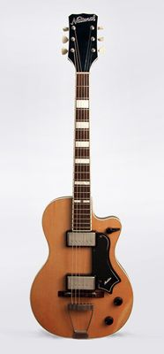 National  Avalon Model 1134 Solid Body Electric Guitar  (1957)