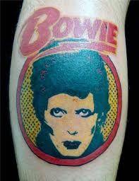 bowie tattoo