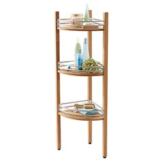 Superieur Teak Corner Shower Caddy