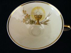 Tea Cup  made by Mitteteich Bavaria  by KissingKansasWinds on Etsy, $4.99