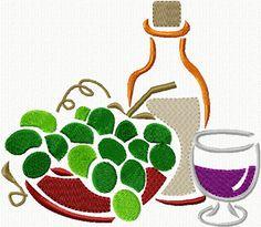 Wine Stencils II