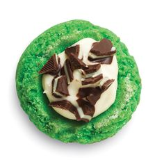 White Chocolate Mint Thumbprint Cookies - The Pampered Chef®