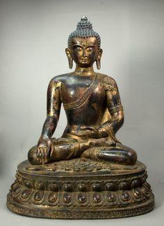 Tibetan Buddha 18 - 19 c