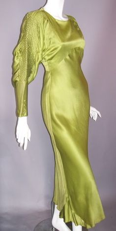 1930s gown, Dorothea's Closet archives