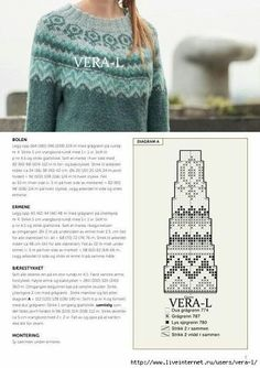 Красивые круглые кокетки | OK.RU Crochet Gloves Pattern, Tapestry Crochet Patterns, Fair Isle Knitting Patterns, Knitting Machine Patterns, Knitting Charts, Sewing Sleeves, Nordic Sweater, Fair Isles, Raglan