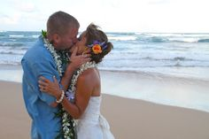 You know when it's love ... to help create your dream wedding give us a call at 877-711-3003 or visit www.AlohaEverAfter.com. #kauaiweddings