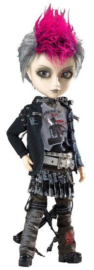 """Taeyang Horizon H.NAOTO $105  Horizon is a fashion collaboration release with fashion designer h.Naoto """"Frill"""" line. Horizon is wearing the same clothing design as one of the full size outfits that were released for their clothing catalog."""