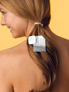 DIY Tea bag in hair dye  Click the image for the info.